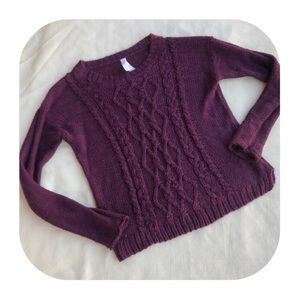 Aeropostale medium maroon sweater
